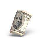 американские изолированные деньги Стоковые Изображения