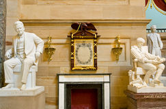 американские исторические статуи Стоковые Фото