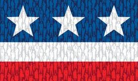 Американские люди Стоковое Изображение RF