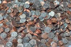 Американские монетки Стоковые Изображения