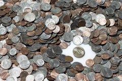 Американские монетки Стоковые Фото