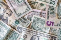 американские наличные деньги Стоковая Фотография