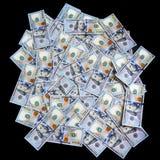 Американские новые 100 долларов Стоковое Фото