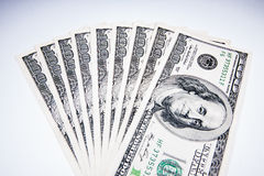 Американские доллары как валюта Стоковые Изображения RF