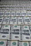 американские доллары кучи как предпосылка Стоковое фото RF