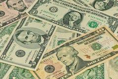 американские доллары Стоковые Изображения RF