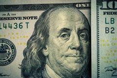 американские примечания долларов банка Стоковое фото RF