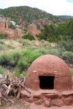 американские стародедовские руины уроженца Стоковые Изображения RF