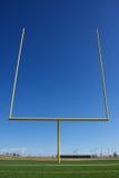 Американские стойка ворот футбольного поля Стоковое Изображение