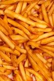 американские fries франчуза Стоковые Фотографии RF