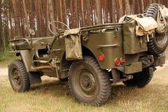 американский автомобиль армии Стоковое Изображение RF