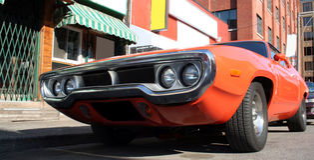 американский автомобиль Стоковые Фото