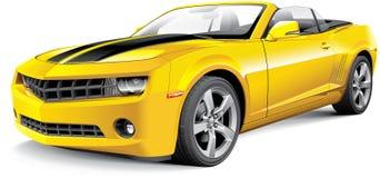 Американский автомобиль с откидным верхом автомобиля мышцы бесплатная иллюстрация