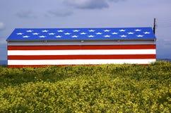 американский амбар Стоковые Изображения RF