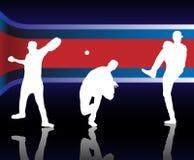 американский бейсбол Стоковые Изображения RF