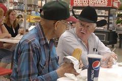 американский вашингтон США положений старшиев гражданина Стоковое фото RF
