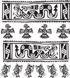 американский вектор иллюстрации иконы культуры Стоковое Изображение