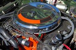 Американский двигатель горячей штанги Стоковые Фотографии RF