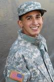 Американский воинский военнослужащий - изображение запаса Стоковая Фотография RF