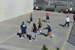 Американский гандбол Стоковая Фотография RF
