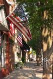 американский городок Стоковые Изображения RF