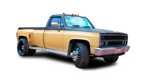американский грузовой пикап Белая предпосылка Стоковые Фотографии RF