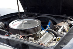 американский двигатель автомобиля Стоковое Фото