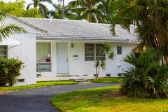 Американский дом в южной Флориде Стоковые Изображения RF