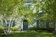 американский дом сада Стоковое фото RF