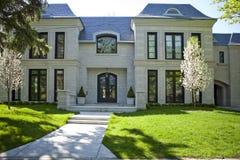 американский дом сада Стоковая Фотография