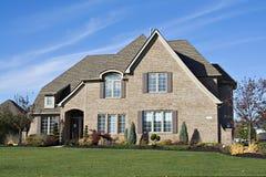 американский дом Стоковая Фотография RF