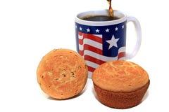 американский завтрак Стоковая Фотография RF