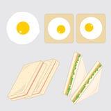 американский завтрак бесплатная иллюстрация