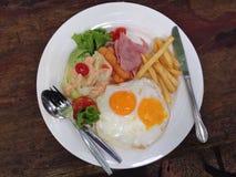 американский завтрак Стоковые Изображения