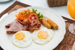 американский завтрак Стоковое Фото