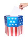 американский избиратель стоковая фотография rf