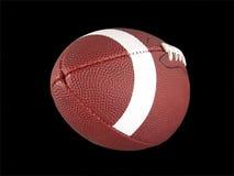 американский изолированный футбол Стоковая Фотография RF