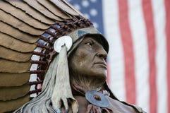 Американский индеец стоковая фотография rf
