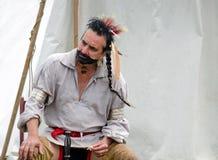 Американский индеец  Стоковая Фотография