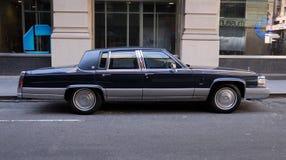 американский классицистический limo Стоковые Изображения