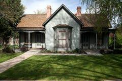 американский классический дом Стоковая Фотография