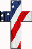американский крест Стоковые Изображения RF