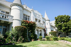 американский классицистический дом Стоковое фото RF