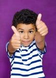 Американский мальчик стоковое фото rf