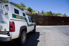 американский мексиканец граници Стоковая Фотография RF