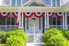Американский дом Стоковое Изображение