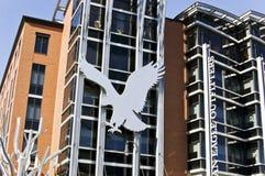 американский орел размещает штаб pittsburgh Стоковые Фото