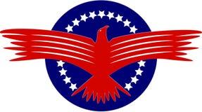американский орел Стоковая Фотография RF