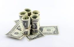 американский доллар Стоковые Фотографии RF