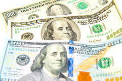 американский доллар Стоковая Фотография